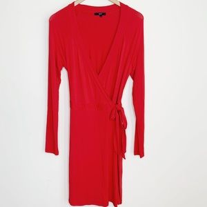 🎄TART Jersey Knit Wrap Dress S